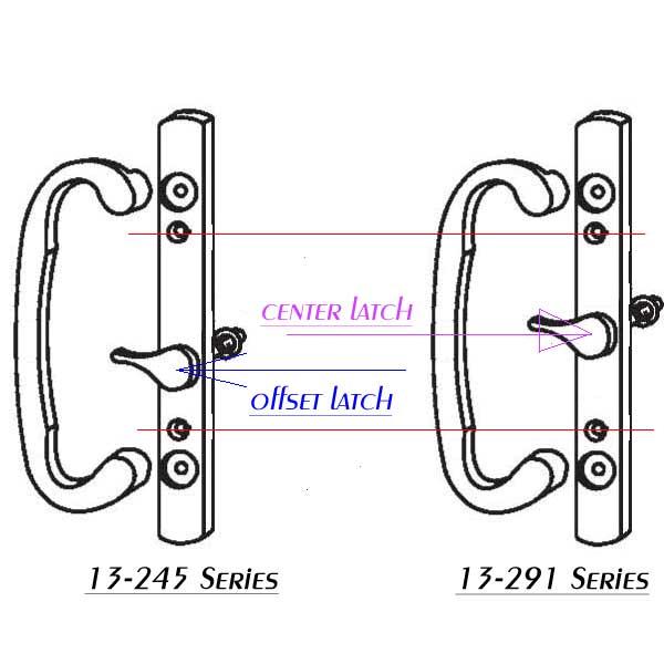 Sash Controls 2265 Sash Controls Handle 13 245bp Brass