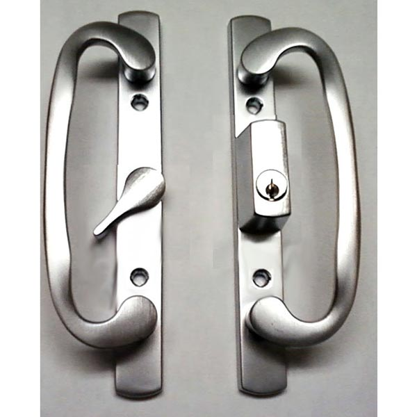 2265 Sash Controls Handle 13-291BCK Brushed Chrome with Keys