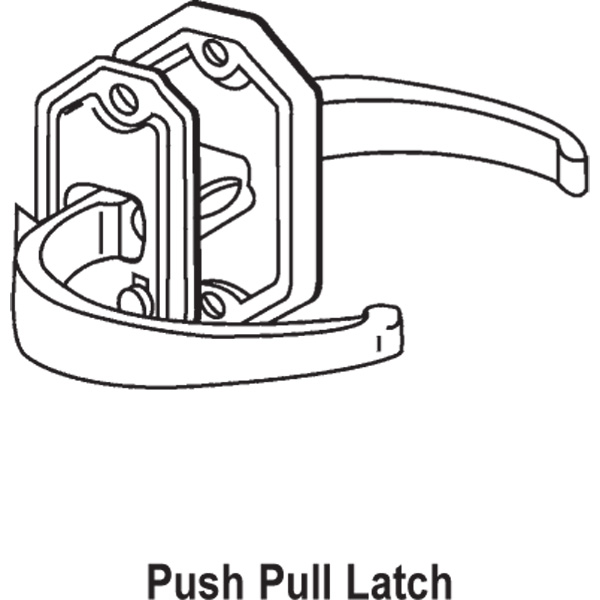 Push Button Latch 17-67
