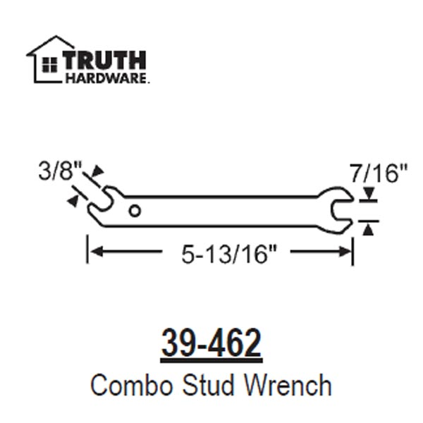 Adjustable Stud Wrench 39-462