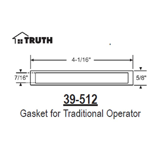 Gasket Traditional Series Operator 39-512