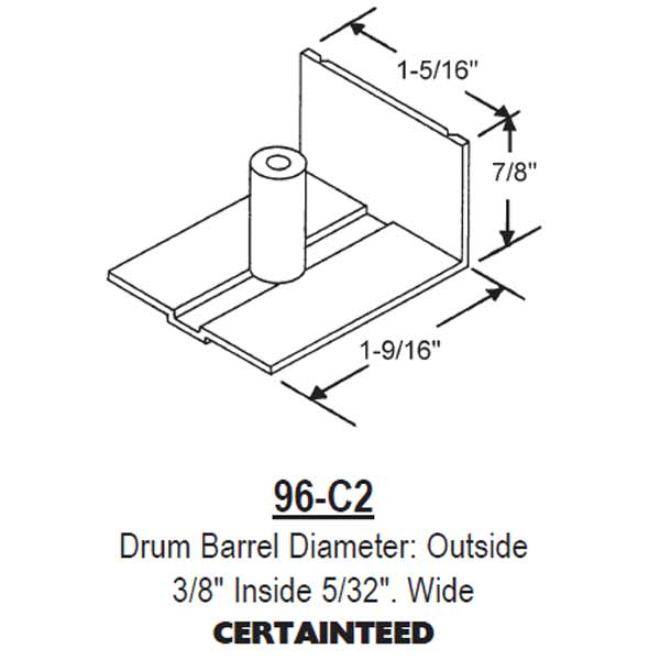 96-C Balance Spring Cover 96-C2