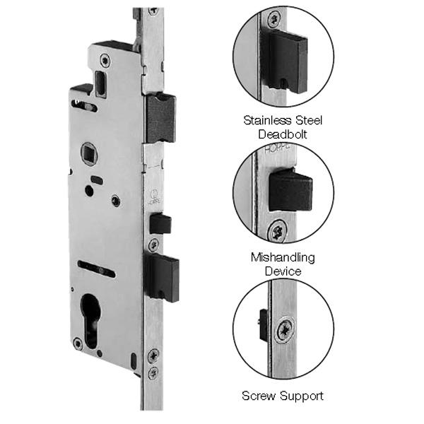 Multipoint Swing Door Hardware