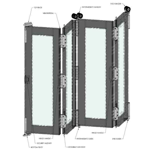 Fold and Slide Door Hardware