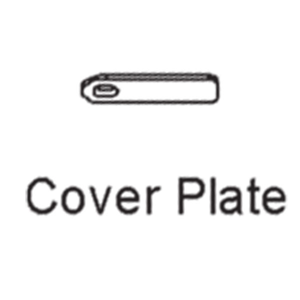 Hoppe Multipoint Cover Plate 2875118