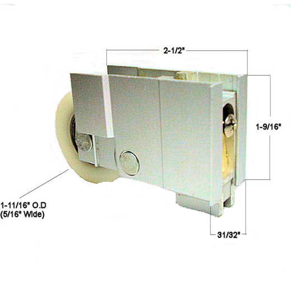 Patio Door Roller 900-22583