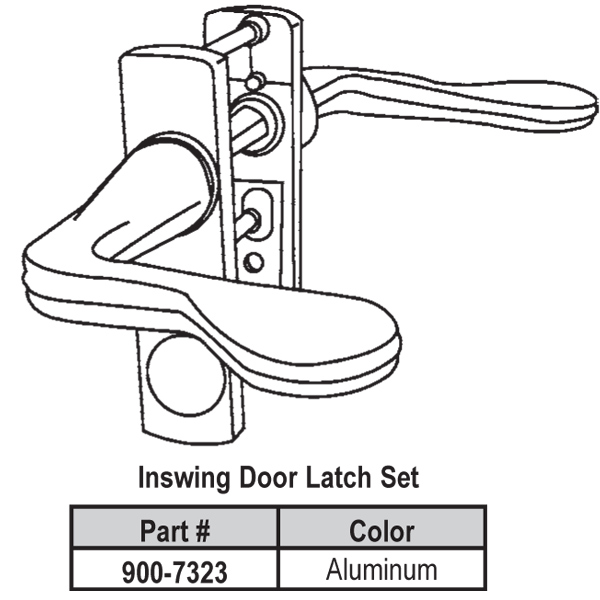 Lever Latch Set 900-7323