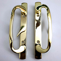 2265 Sash Controls Handle 13-291BP Brass plated
