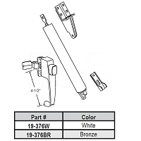 Door Hardware Kit 19-376BR