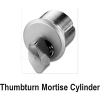 Thumbturn Mortise Cylinder 19-409