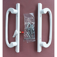 2265 Sash Controls Handle 13-245W White