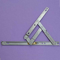 10inch Anderberg 201 Stainless Steel Hinge with Stop 28-10-2-07