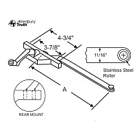 Rear Mount Casement Operator 36-226-3