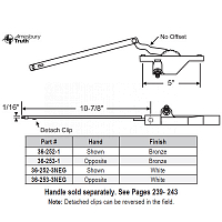 Rear Mount Casement Operator 36-252-1