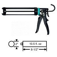 FX7-90 Half Pipe Caulking Gun 59-105