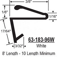 Leaf Weatherseals 63-183-96W