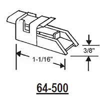 64 Series Sash Guide 64-500