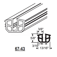 Glazing Channel 67-43