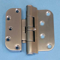Hoppe Satin Nickle Guide Hinges 850-2664572