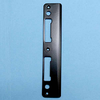 Matte Black Latch & Deadbolt Strike 8787735