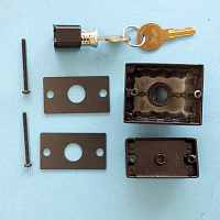 Deadbolt  Single Cylinder 900-13554DB