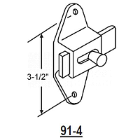 Surface Mounted Latch 91-4