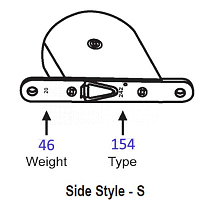 154 Side Style -S Tape Balance 96-108