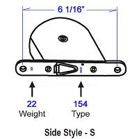 154 Side Style -S Tape Balance 96-96