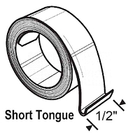 Short Tongue Hook Coil Spring 96AA-17