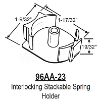 Interlocking Stackable Spring Holder 96AA-23