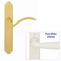 White Hoppe Swing Door Handle 8763187