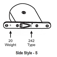 Side Style -S Tape Balance 96-34
