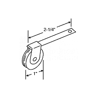 Screen Door Roller 10-356