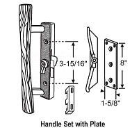 Handle Patio Door 13-112