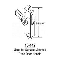 Mortise Lock 16-142