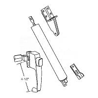 Door Hardware Kit 19-376W