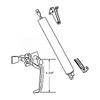 Door Hardware Kit 19-709AL