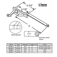 Rear Mount Casement Operator 36-225-13