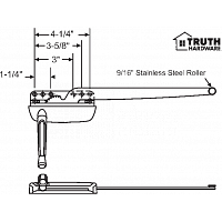 Sill Mounted Casement Operator 36-429-29
