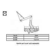Sill Mounted Casement Operator 36-489