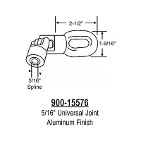 5/16 inch Universal Joint 900-15576
