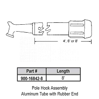8ft Pole Hook Assembly 900-16842-8