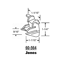 Sash Bottom Bracket Jones 60-564
