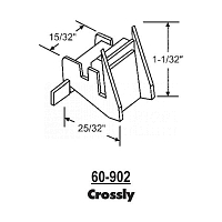 Sash Bottom Bracket Crossly 60-902