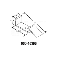 Metal Sash Guide 900-10396