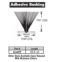 Adhesive Weather Stripping 63-49TP