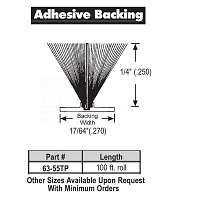 Adhesive Weather Stripping 63-55TP