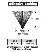 Adhesive Weather Stripping 63-57TP
