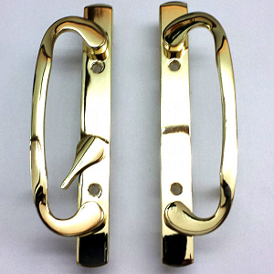 2265 Sash Controls Handle 13-245BP Brass Plated 3