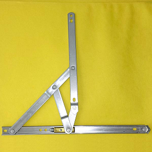 14 inch 401 Stainless Steel 4-Bar Hinge 28-14-12-0 3